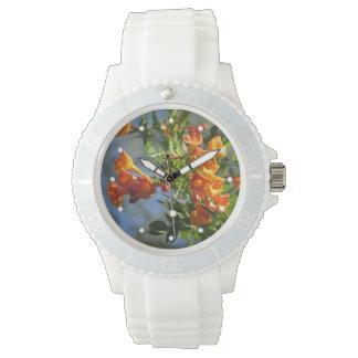 Jubileo anaranjado relojes de pulsera