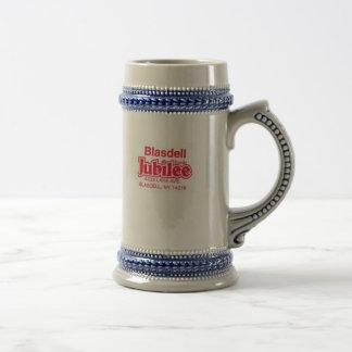 Jubileo de Blasdell Jarra De Cerveza