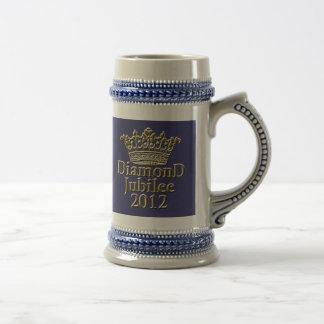 Jubileo de diamante 2012 con la corona jarra de cerveza