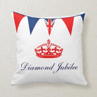 Jubileo de diamante almohadas