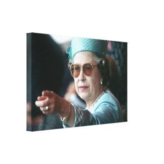 Jubileo de diamante del HM reina Elizabeth II Impresión En Lona