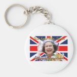 Jubileo de diamante del HM reina Elizabeth II Llavero