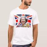 Jubileo de diamante del HM reina Elizabeth II Playera