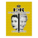 Jubileo de diamante postales