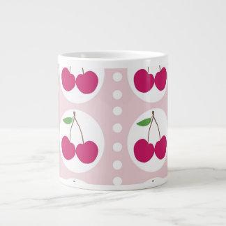 Jubileo de las cerezas taza grande