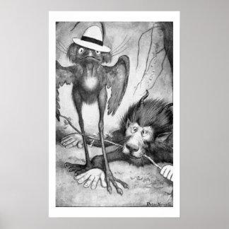 Jubjub Bird and the Bandersnatch Poster