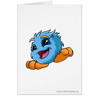 JubJub Blue Greeting Cards