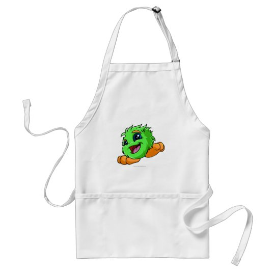 JubJub Green Adult Apron