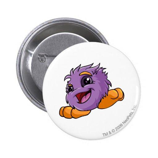 JubJub Purple 2 Inch Round Button