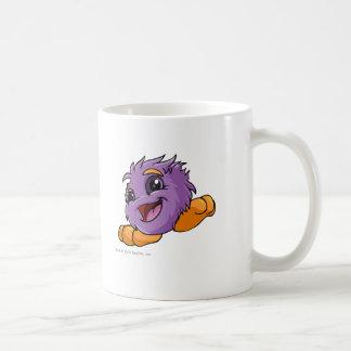 JubJub Purple Classic White Coffee Mug
