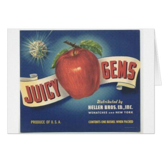 Jucy Gems Card