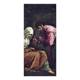 Judah And Tamar By Ponte Jacopo Da (Best Quality) Custom Rack Card
