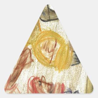Judah de Mediterrania Triangle Stickers
