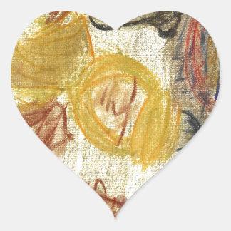 Judah de Mediterrania Heart Stickers