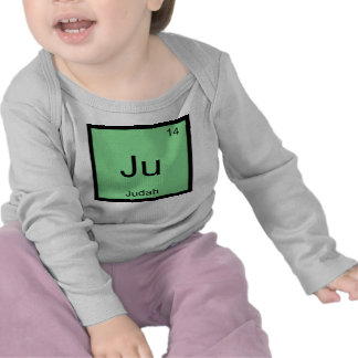Judah  Name Chemistry Element Periodic Table Shirts