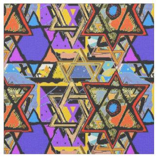 Judaic Customized Fabrics - Mogen David Gifts Fabric