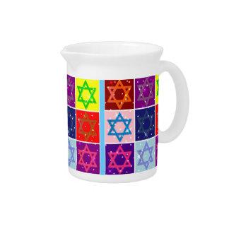 Judaic Designer Pitcher - Dinnerware - Jewish Art