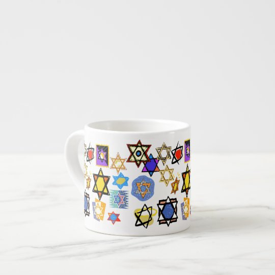 JUDAIC GIFTS TEACUPS EXPRESSO MUGS - BEST GIFTS
