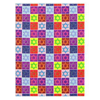 Judaic Tablecloth - Jewish Holidays - Chanuka Gift