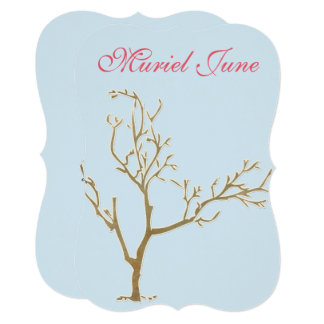 JUDAIC TREE HAMSA BAT BAR MITZVAH INVITATION