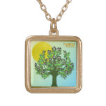 Judaica 12 Tribes Israel Asher Necklaces