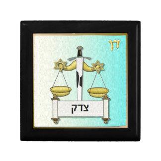 Judaica 12 Tribes Israel Dan Art Trinket Boxes