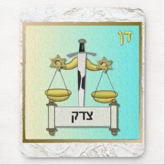 Judaica 12 Tribes Israel Dan Mouse Pad