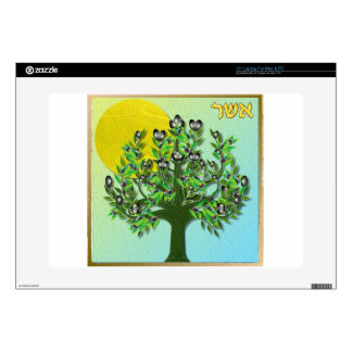 """Judaica 12 Tribes Of Israel Asher Skin For 15"""" Laptop"""