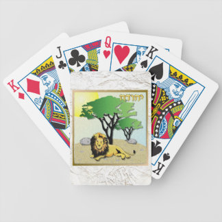 Judaica 12 Tribes Of Israel Judah Bicycle Playing Cards