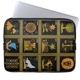 Judaica 12 Tribes of Israel Laptop Sleeve