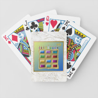 Judaica 12 Tribes Of Israel Levi Bicycle Playing Cards