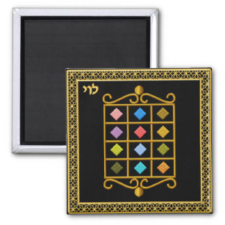 Judaica 12 Tribes of Israel Magnet - Levi