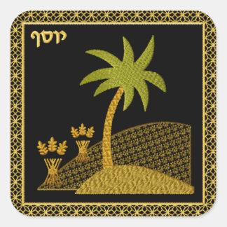 Judaica 12 Tribes of Israel Square Sticker Iosef