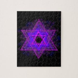 Judaica,… brillando intensamente en oscuridad rompecabeza