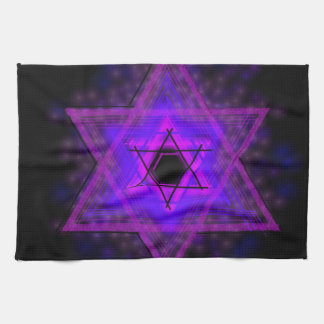 Judaica,... glowing in darkness hand towel