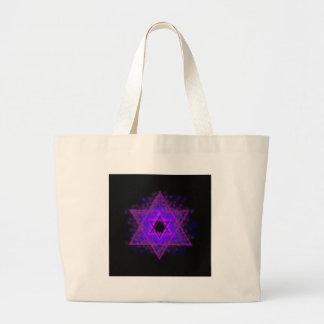 Judaica,... glowing in darkness jumbo tote bag