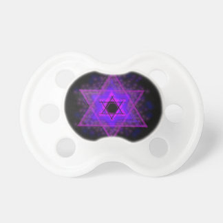 Judaica,... glowing in darkness BooginHead pacifier