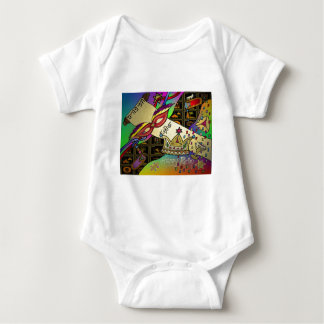 Judaica Happy Purim Jewish Holiday Gifts Apparel Baby Bodysuit