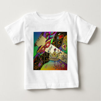 Judaica Purim Esther Celebration Art Print Baby T-Shirt