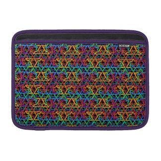 Judaica Rainbow Stars of David Macbook Air Case MacBook Air Sleeve