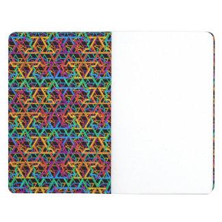 Judaica Rainbow Stars of David Poket Notebook