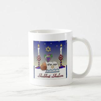 Judaica Shabbat Shalom Art Print Coffee Mug