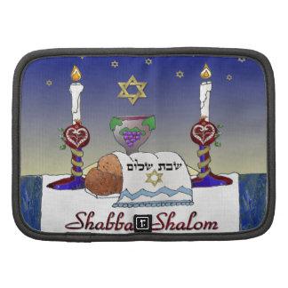 Judaica Shabbat Shalom Art Print Folio Planners