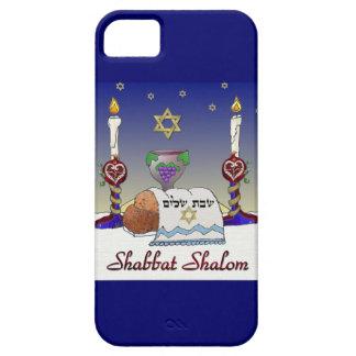 Judaica Shabbat Shalom Art Print iPhone 5 Case