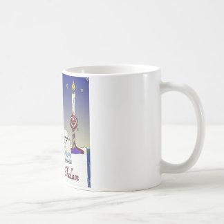 Judaica Shabbat Shalom Art Print Classic White Coffee Mug