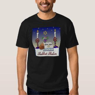 Judaica Shabbat Shalom Art Print T-shirts