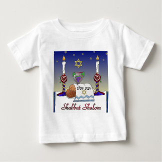 Judaica Shabbat Shalom Art Print Tshirts