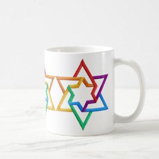 Judaica Stars of David Mug