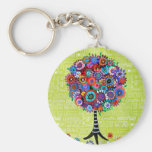 Judaica Tree of Life Keychain Keychains