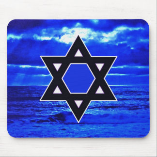 Judaicas blues mouse pad